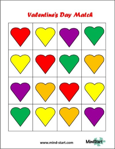 Valentine Game for Dementia