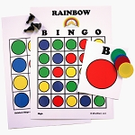 Rainbow Bingo Game