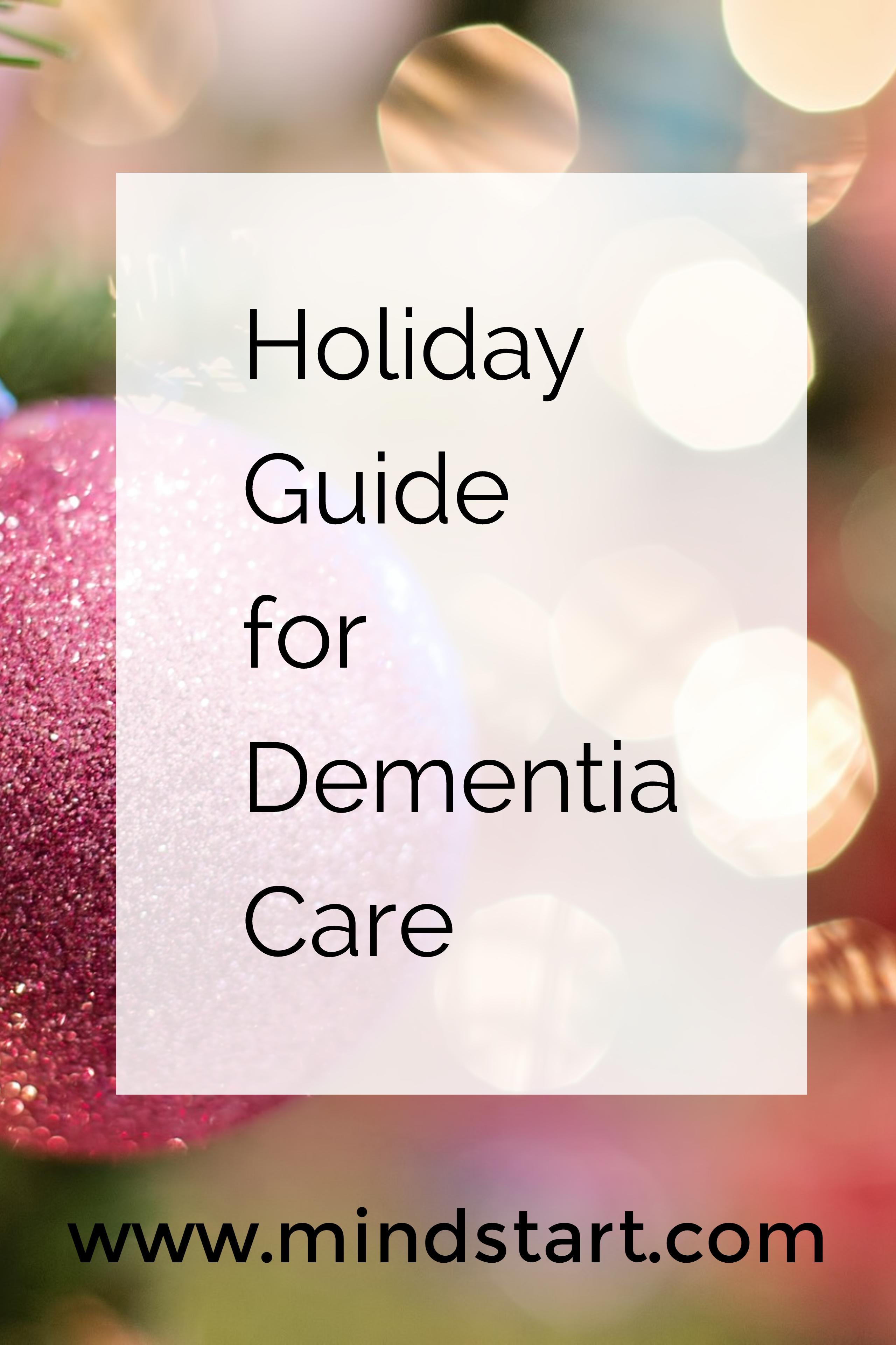 Holiday Guide for Dementia Care