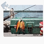 24-piece Fishing Puzzle