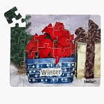24-piece Winter Puzzle