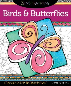 Birds and Butterflies Coloring Book