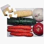 12-piece Vegetables Puzzle