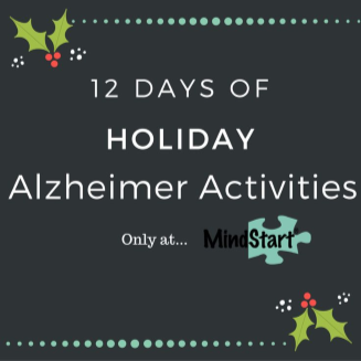 12 days of Alzheimer activities