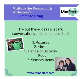 Visiting the Person with Alzheimers: Great Items to Take