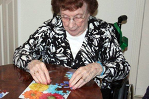 puzzle activity for Alzheimers