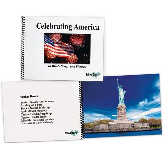 America Picture Song book for dementia
