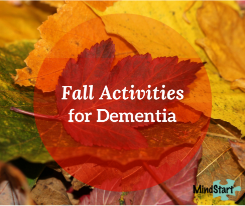 fall activities for dementia