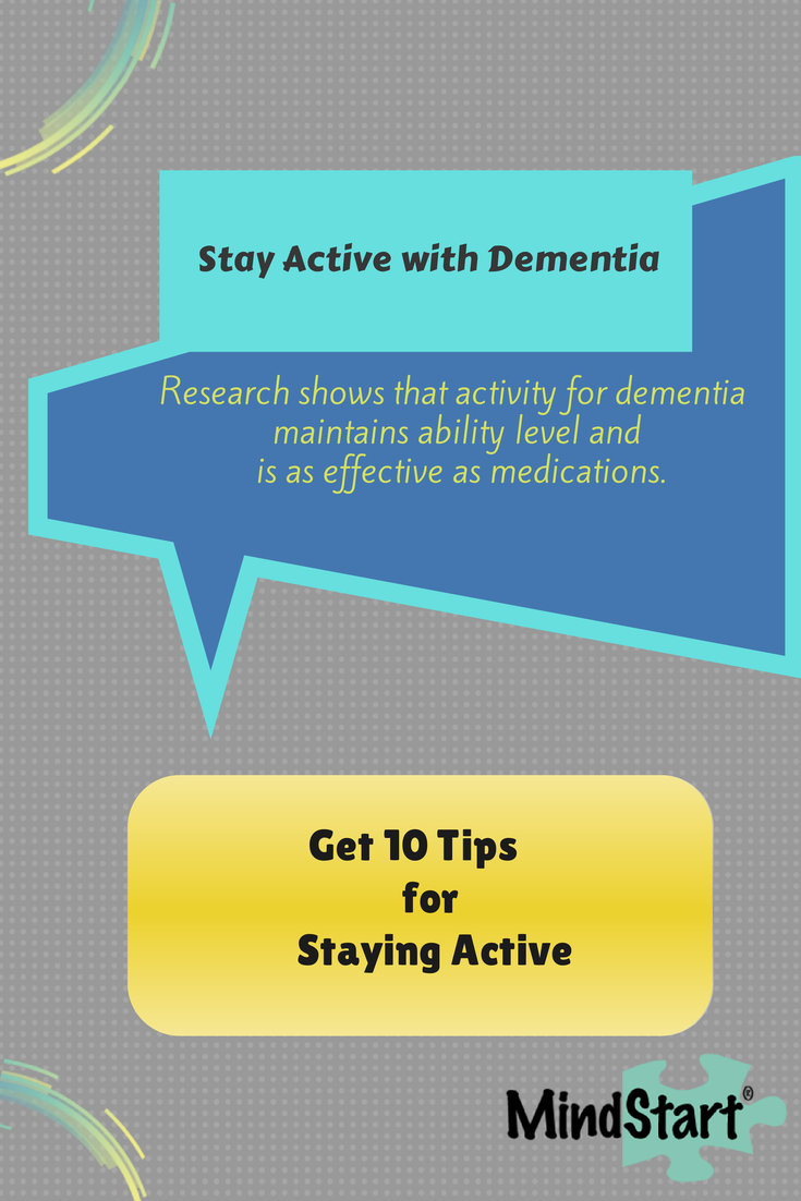 10 Tips to Stay Active with Dementia