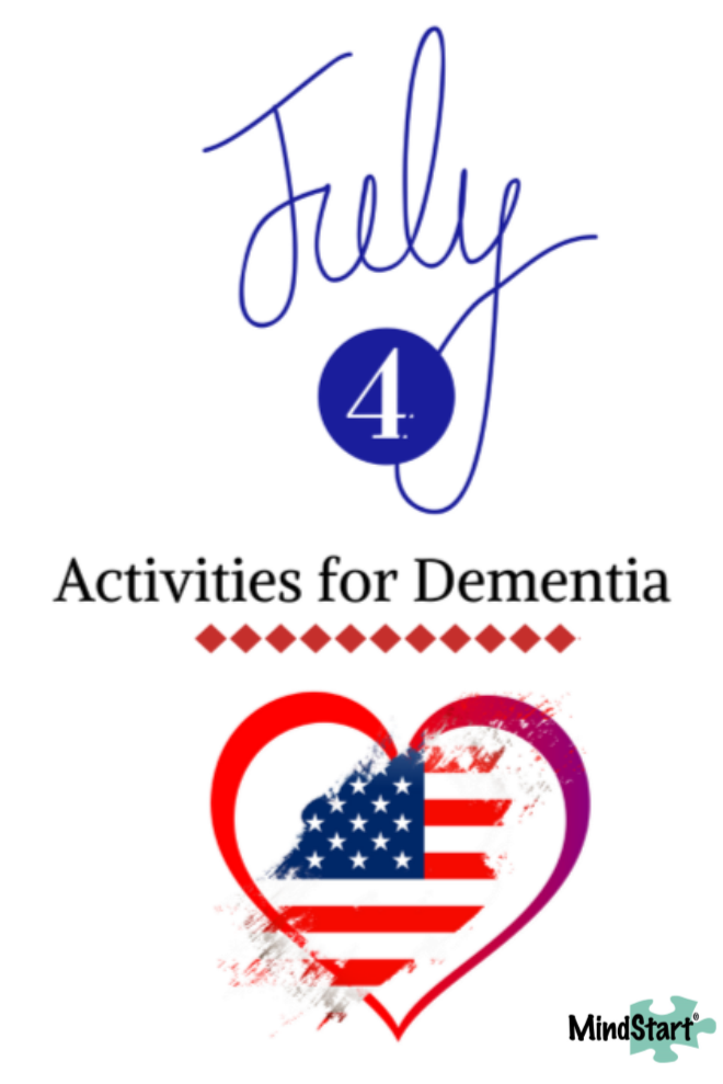July 4 Independence Day Dementia Activities