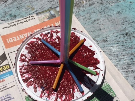 july 4 paint activity for dementia