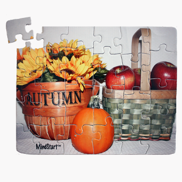 large piece fall puzzle for dementia