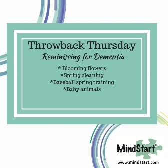 reminisce activity for dementia