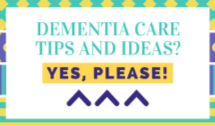 sign up for dementia care tips