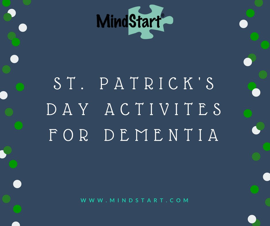 dementia activities st. patrick