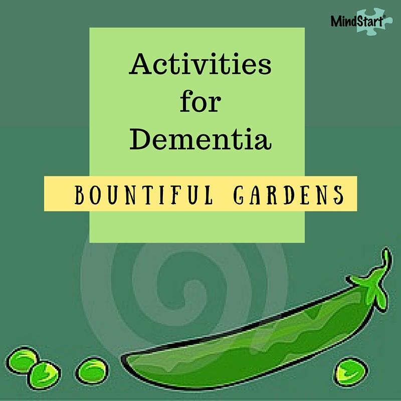 garden activities for dementia