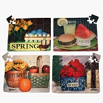 Seasons Puzzle 4-Pack