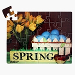 26 piece Spring puzzle for Alzheimer's