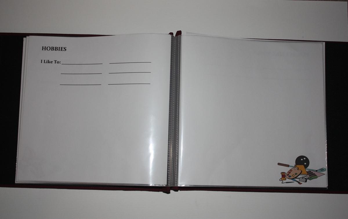 image regarding Memory Book Printable called This Is My Everyday living Memory E-book - printable template