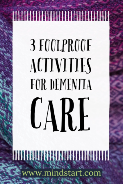 3 activities for dementia