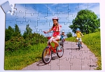 63 piece Biking Puzzle
