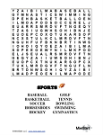Higher Level Word Searches - printable set