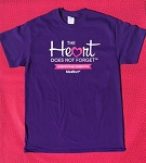 Heart Does Not Forget T-shirt