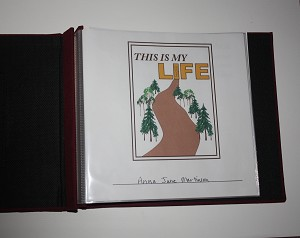 This Is My Life Memory Book - printable template
